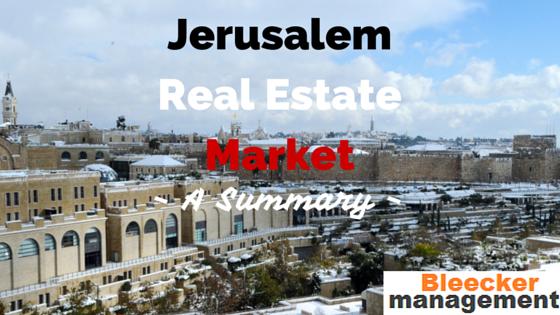 Jerusalem Real Estate Market